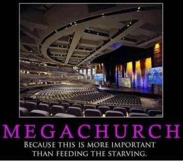 Image result for extreme mega wealth churches