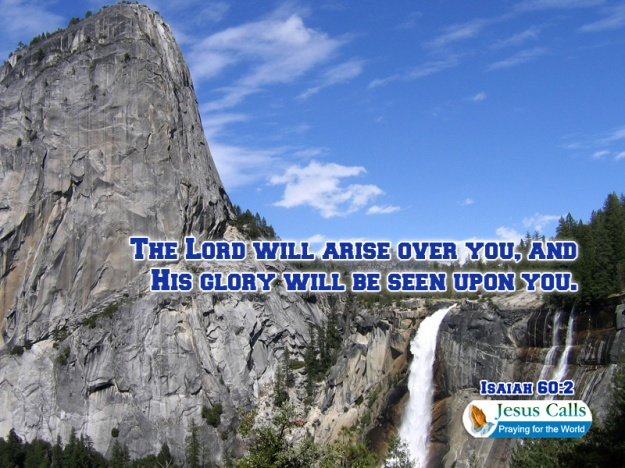 his glory will