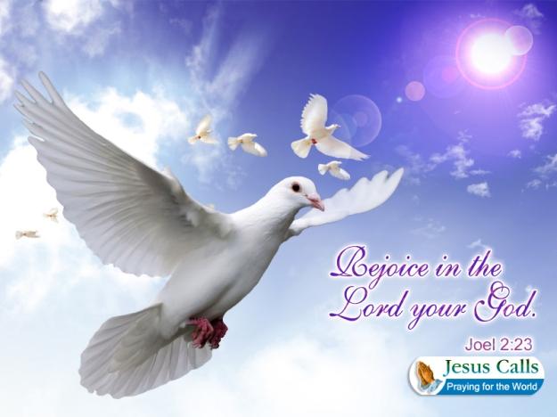 REJOICE IN YOUR GOD