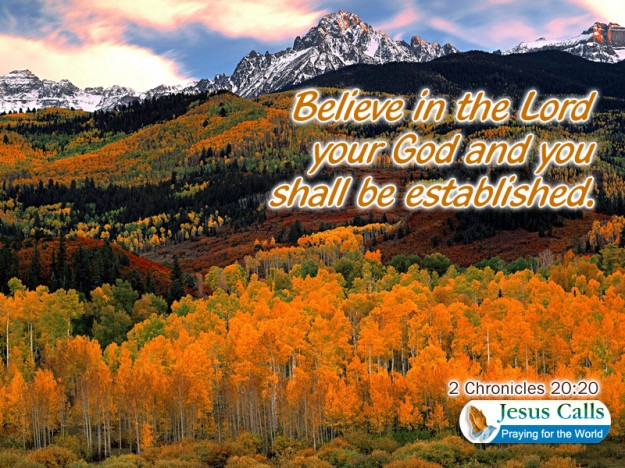 BELIEVE IN THE LORD