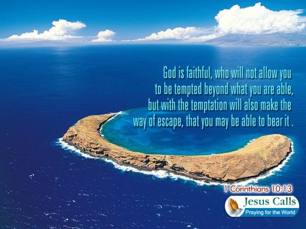 god is faithful who