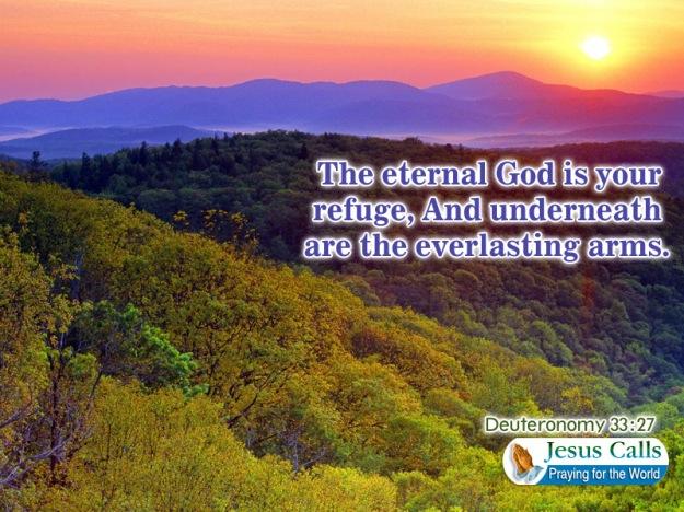 the eternal god