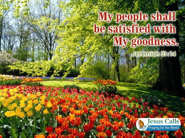 be satisfied