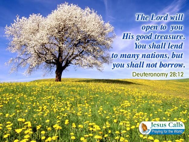 you shall lend
