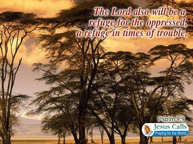 be a refuge